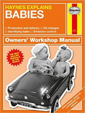 Babies - Haynes Explains by Boris Starling  | Bloomsbury Store