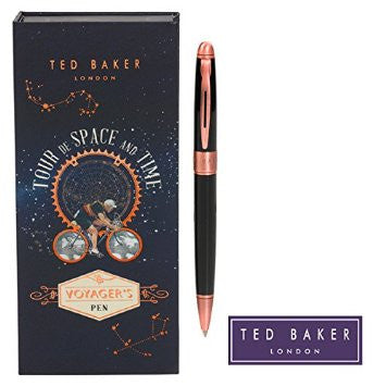 Ted Baker Classic Pen Black and Copper | Wild & Wolf -  Bloomsbury Store
