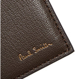 Paul Smith Accessories | Dark Brown Leather Billfold Wallet With Coin Wallet -  Bloomsbury Store - 4