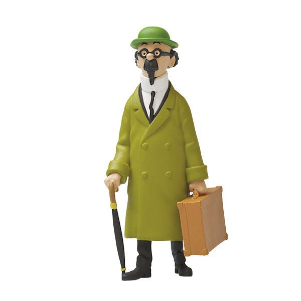 Tintin Figurine | Calculus With Suitcase Large -  Bloomsbury Store