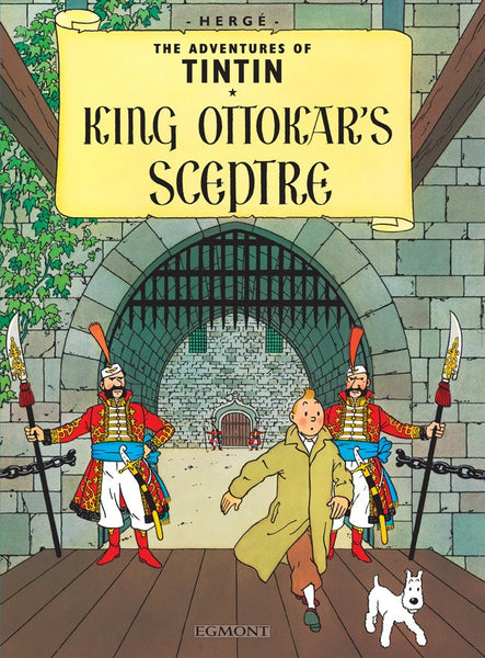 The Adventures of Tintin Book | King Ottokar's Sceptre -  Bloomsbury Store