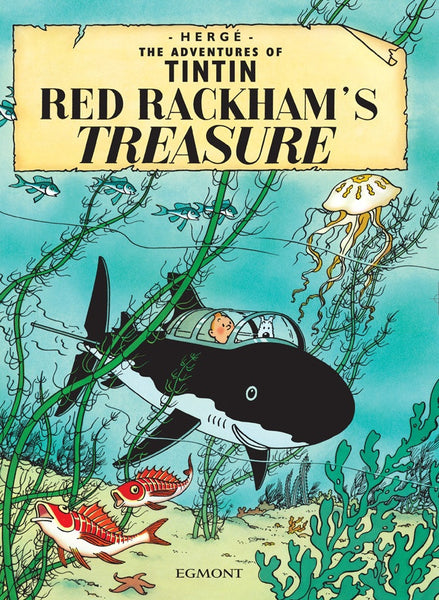 The Adventures of Tintin Book | Red Rackham's Treasure -  Bloomsbury Store