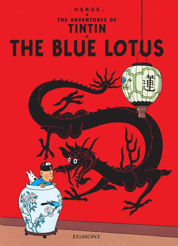 The Adventures of Tintin Book | The Blue Lotus -  Bloomsbury Store