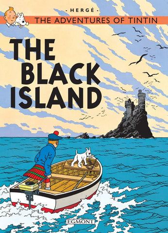 The Adventures of Tintin Book | The Black Island -  Bloomsbury Store