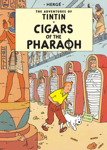 The Adventures of Tintin Book | Cigars of the Pharaoh -  Bloomsbury Store