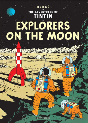 The Adventures of Tintin | Explorers on the Moon -  Bloomsbury Store