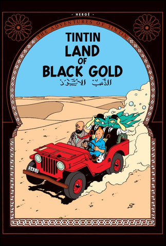 The Adventures of Tintin Book | Land of Black Gold -  Bloomsbury Store