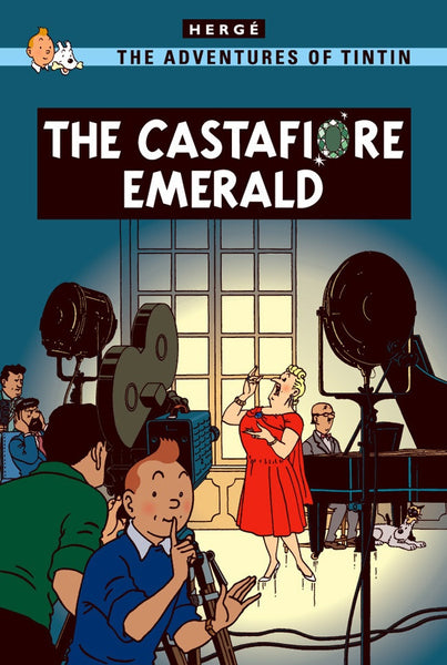 The Adventures of Tintin Book | The Castafoire Emerald -  Bloomsbury Store