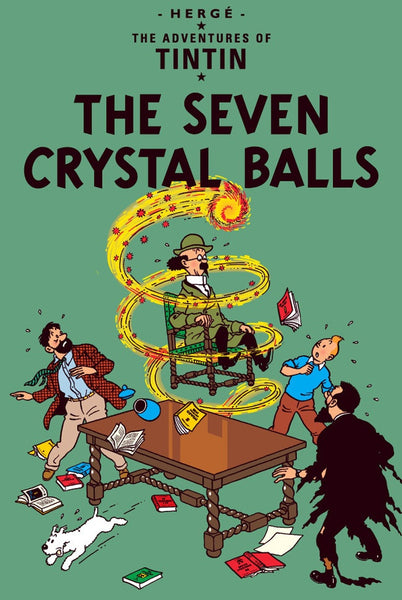 The Adventures of Tintin Book | The Seven Crystal Balls -  Bloomsbury Store