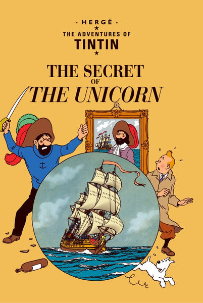 The Adventures of Tintin Book | The Secret of the Unicorn -  Bloomsbury Store