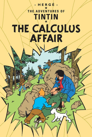 The Adventures of Tintin Book | The Calculus Affair -  Bloomsbury Store