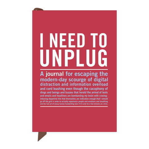 Inner Truth Mini Journal | I Need To Unplug  | Bloomsbury Store
