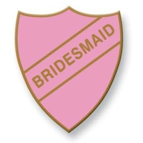 Bridesmaid School Badge | Wild and Wolf -  Bloomsbury Store