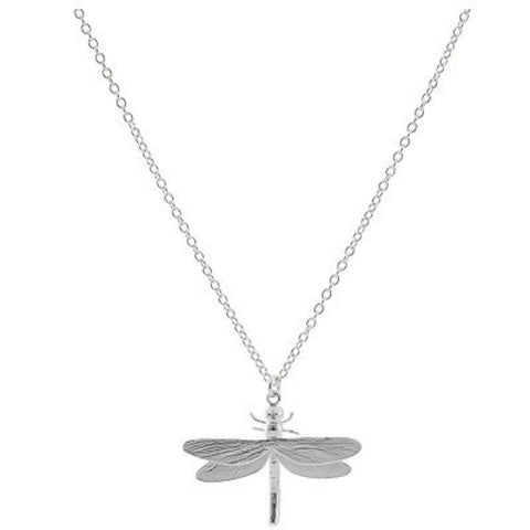 Alex Monroe Dragonfly Necklace | Silver -  Bloomsbury Store