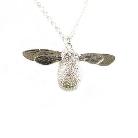 Alex Monroe Necklace | Baby Bee Silver -  Bloomsbury Store