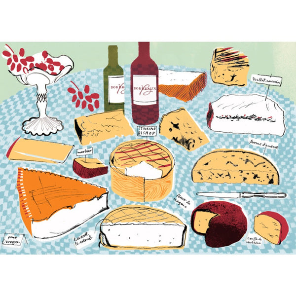 Alice Tait Print | Cheese Board -  Bloomsbury Store