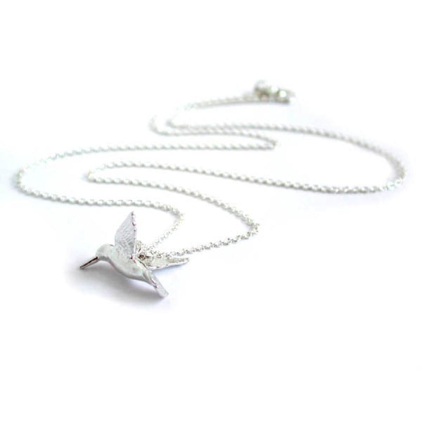 Alex Monroe Hummingbird Necklace | Sterling Silver -  Bloomsbury Store