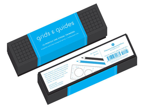 Grids and Guides Pencils Set -  Bloomsbury Store