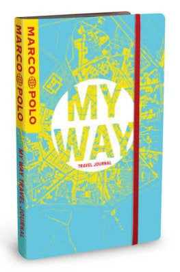 My Way Travel Journal | City Map Cover  | Bloomsbury Store