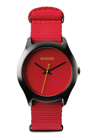 Nixon Mod | Bright Red -  Bloomsbury Store - 1