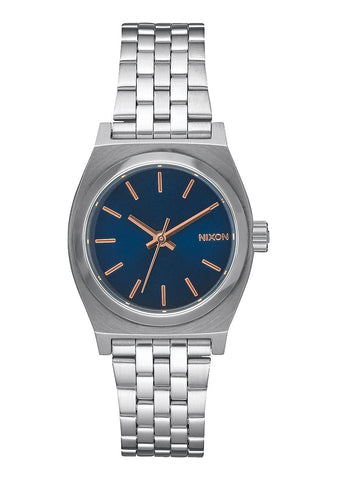 Nixon Small Time Teller | Navy / Rose Gold  | Bloomsbury Store - 1