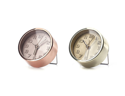 Copper/Gold Alarm Clock  | Bloomsbury Store - 1