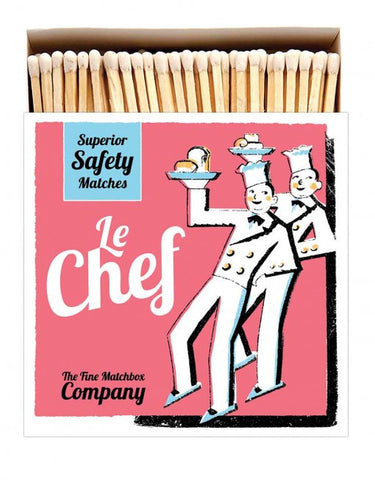 Le Chef Matches | Archivist  | Bloomsbury Store