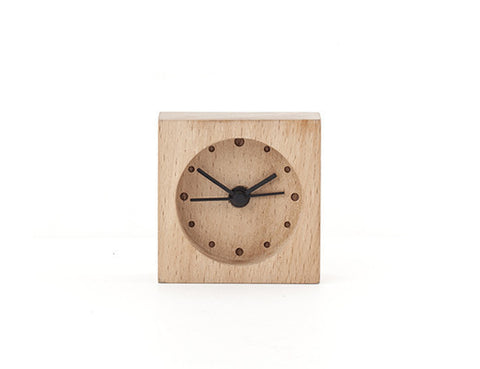 Mini Wooden Alarm Clock  | Bloomsbury Store - 1