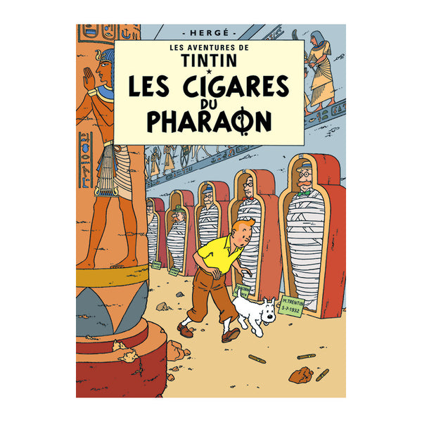 Tintin Poster - Cigars of the Pharaoh (1934) - Unframed Bloomsbury Store - 1