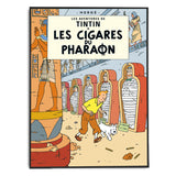 Tintin Poster - Cigars of the Pharaoh (1934) - Framed Bloomsbury Store - 2