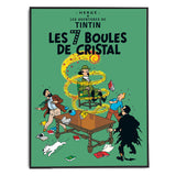 Tintin Poster - The Seven Crystal Balls (1948) - Framed Bloomsbury Store - 2