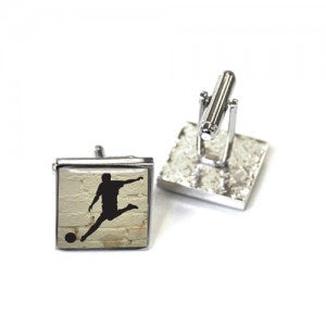 Tyler & Tyler Cufflinks | Football -  Bloomsbury Store - 1