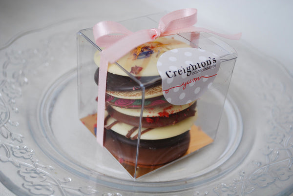 Creighton's Floral Stack Chocolate Thins -  Bloomsbury Store