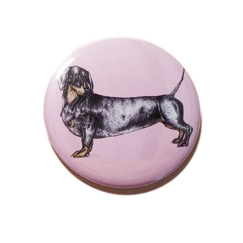 Donald the Dachshund Pocket Mirror | Fawn and Thistle  | Bloomsbury Store