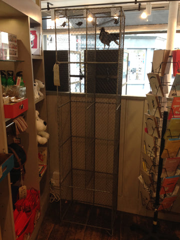 Wire Mesh Storage Unit  | Bloomsbury Store - 1