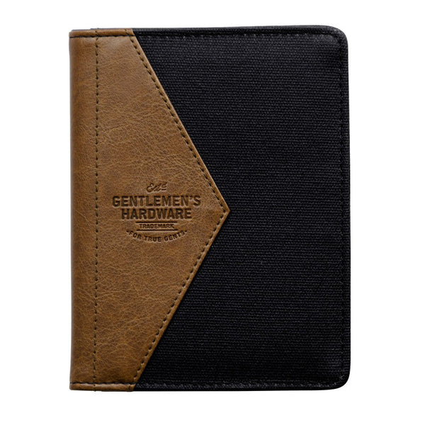Gentlemen's Hardware Charcoal Travel Wallet | Wild & Wolf -  Bloomsbury Store - 1