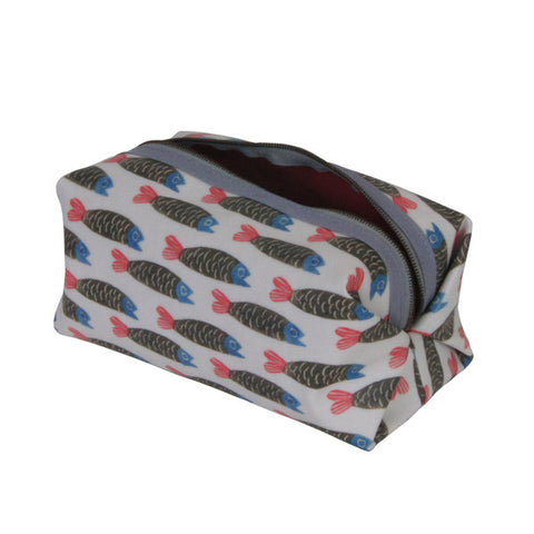 Hinchcliffe & Barber Box Cosmetic Purse | Paper Fish -  Bloomsbury Store