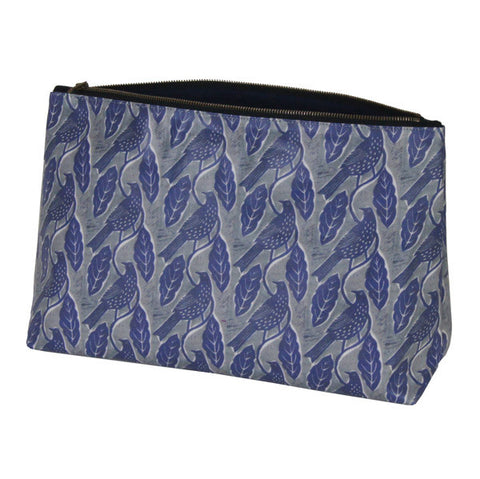 Hinchcliffe & Barber Wash Bag | Bird and Leaves -  Bloomsbury Store
