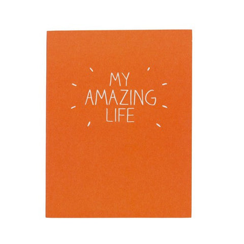 Happy Jackson My Amazing Life Notebook -  Bloomsbury Store