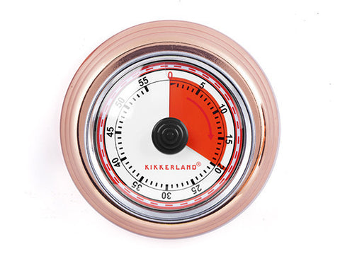 Copper Magnetic Kitchen Timer  | Bloomsbury Store - 1