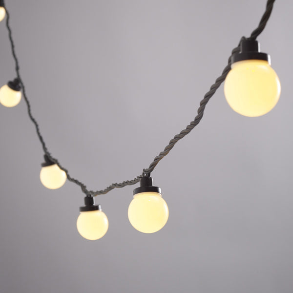 10 Warm White LED Party Lights WITH PLUG | Lights4fun -  Bloomsbury Store