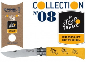 Opinel No.8 Tour De France | Yellow -  Bloomsbury Store