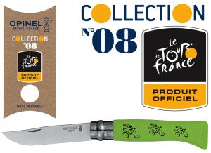 Opinel No.8 Tour De France | Green -  Bloomsbury Store