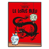 Tintin Poster - The Blue Lotus (1936) - Framed Bloomsbury Store - 2