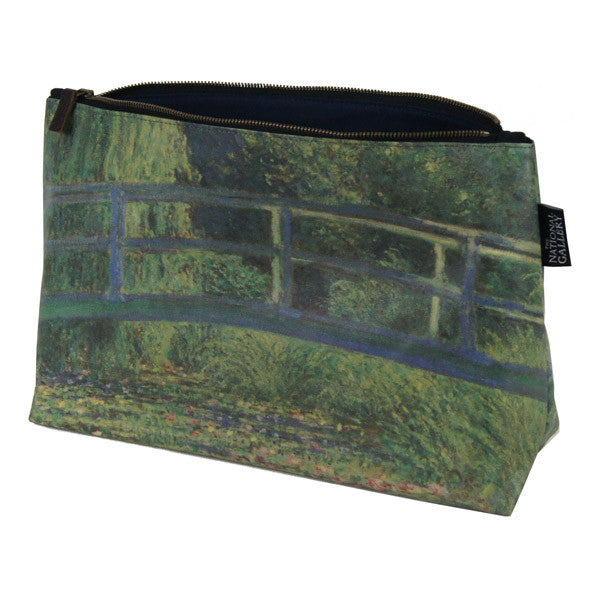 National Gallery Wash Bag | The Water-Lily Pond by Claude Monet -  Bloomsbury Store
