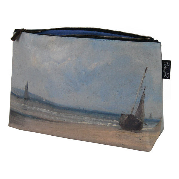 National Gallery Wash Bag | La Ferte by Richard Parkes Bonington -  Bloomsbury Store