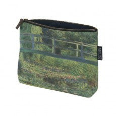 National Gallery Cosmetic Bag | The Water-Lily Pond -  Bloomsbury Store