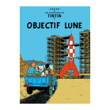 Tintin Poster - Destination Moon (1953) - Unframed Bloomsbury Store - 1