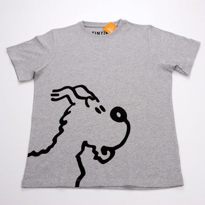 Snowy T-Shirt | Grey M | Bloomsbury Store