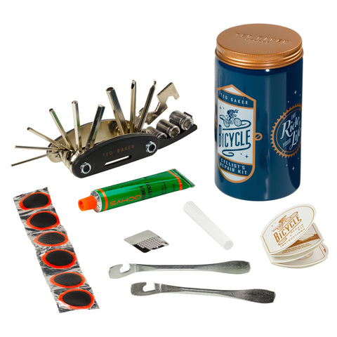 Ted Baker Bike Repair Kit in Tin Blue | Wild & Wolf -  Bloomsbury Store - 1